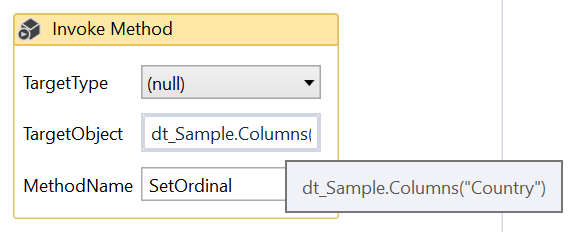 Uipath Datatable Select Row Index